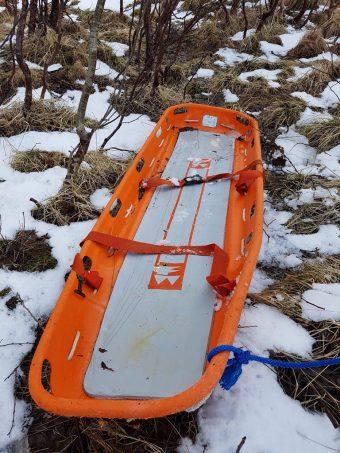 @politiMHPD:  Stamsund, Lofoten: Det er funnet ei båre