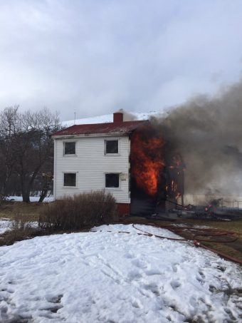 @politiMHPD:  Huset er overtent. Det skal ikke være fo
