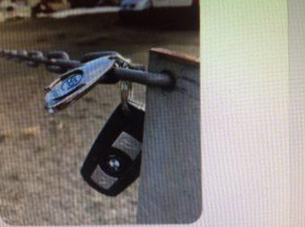 @politiMHPD:  Kabelvåg/bilnøkler  BMW nøkler levert
