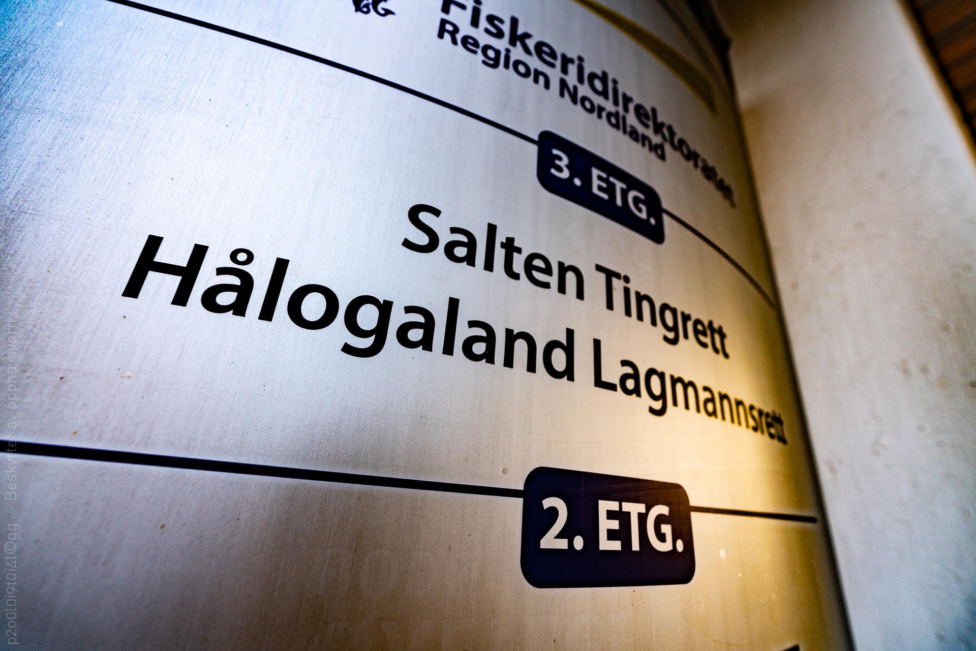 Salten tingrett og Hålogaland lagmannsrett
